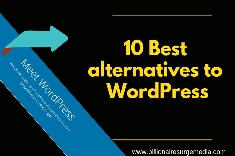 Best alternatives to WordPress – (10 wordpress competitors)