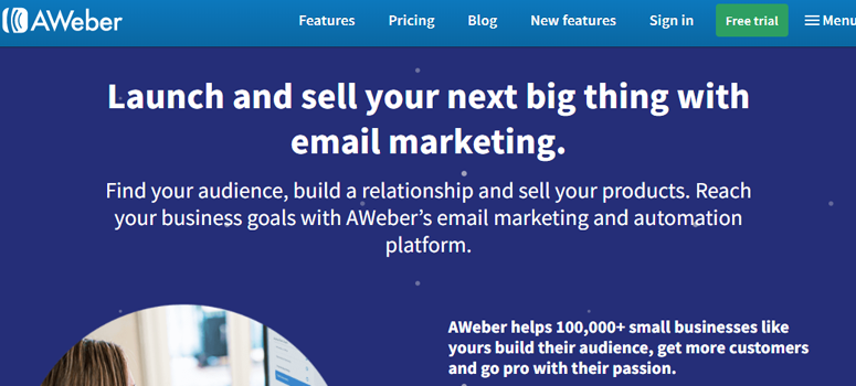 aweber - 9 Best Email Marketing Services Compared (2019)